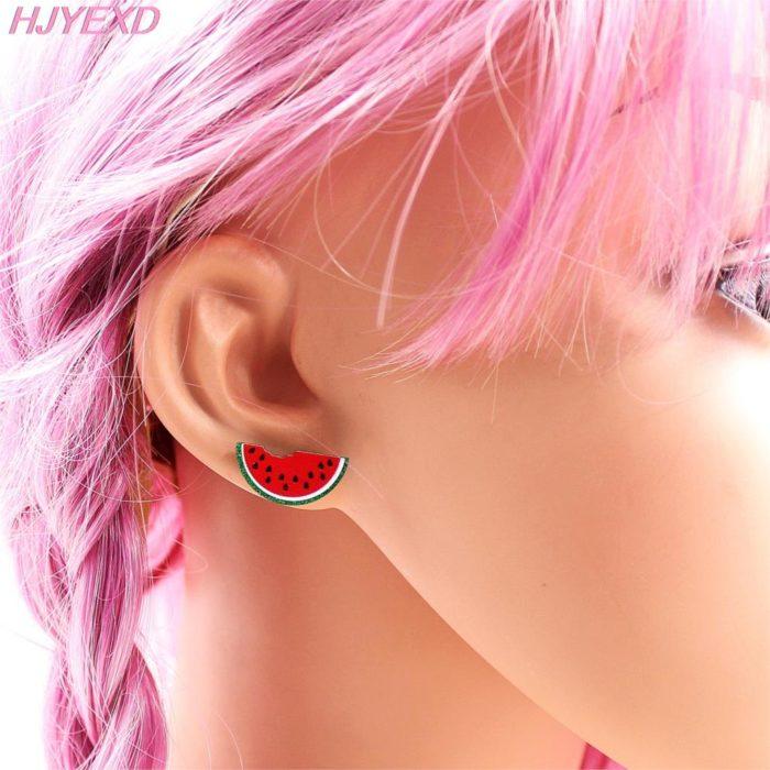Cute Stud Watermelon Earrings