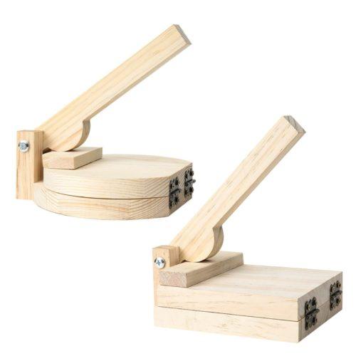 Natural Wooden Tortilla Press
