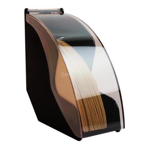 Flip Cover Coffee Filter Holder Dispenser