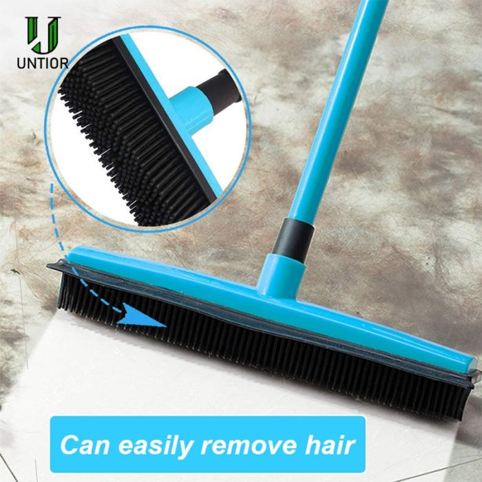 Pet Hair Broom Rubber Brush