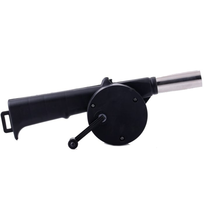 Portable Hand Crank BBQ Fan Blower