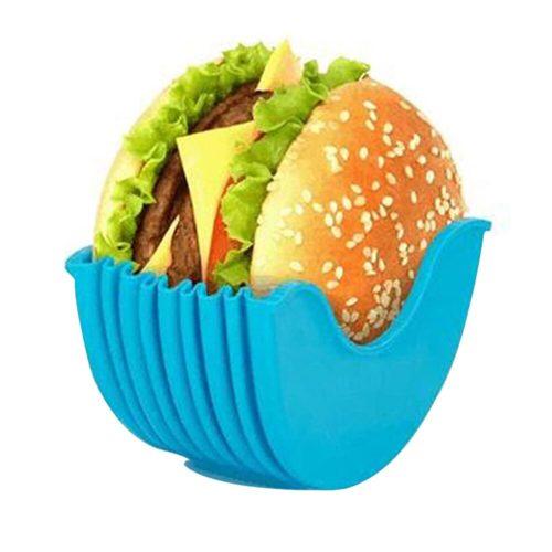 Reusable Silicone Burger Holder