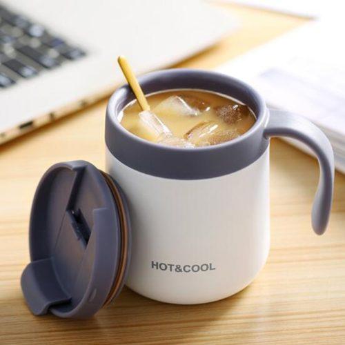 Stainless Travel Mug with Handle
