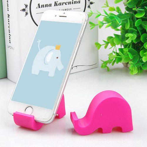 Cute Mini Elephant Phone Holder
