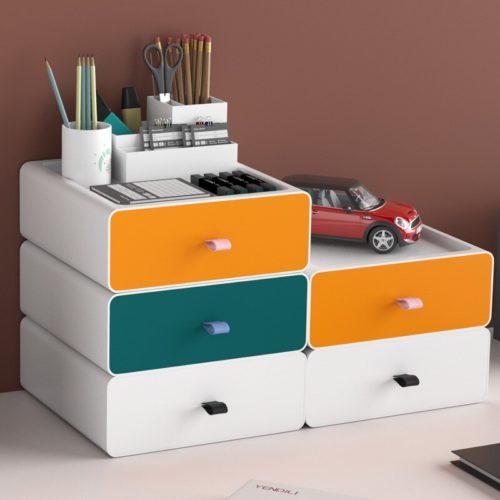 Stackable Plastic Drawer Organizer