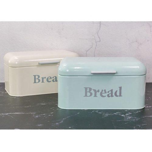 Retro-Style Metal Bread Bin