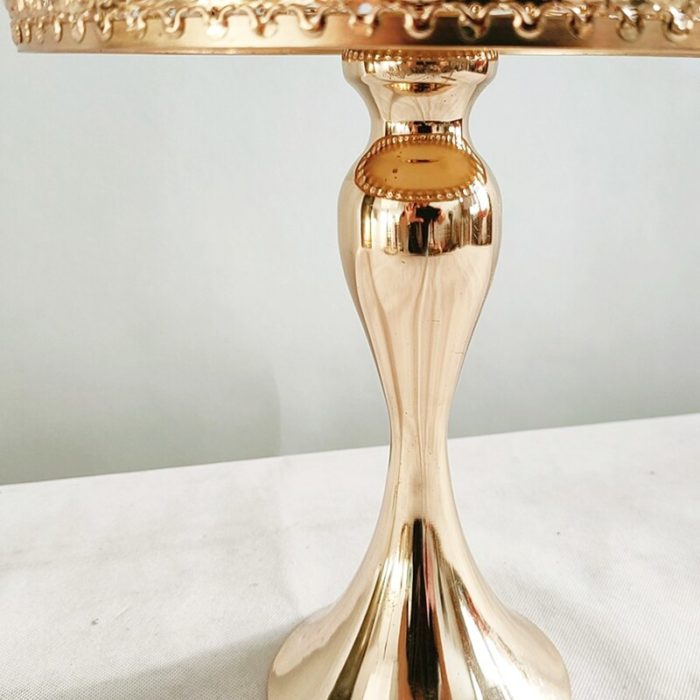 Gold Color Metal Cake Stand