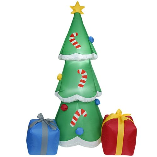 LED Inflatable Christmas Tree with Fan