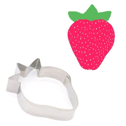 Stainless Steel Strawberry Cookie Cutter