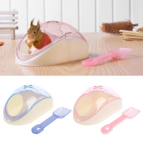 Hamster Sand Bath Container with Shovel
