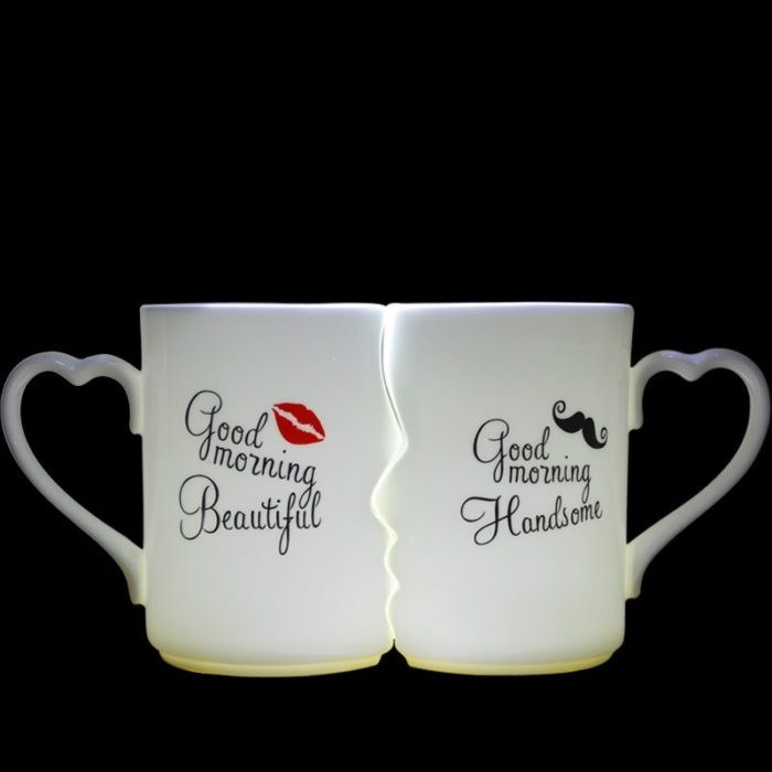 Bone China Kissing Cups Set