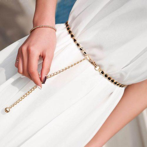 Waist Chain Belt Fashionable Ladies Accessory
