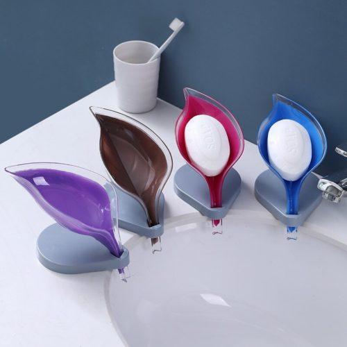 Creative Design Leaf Shape Soap Holder
