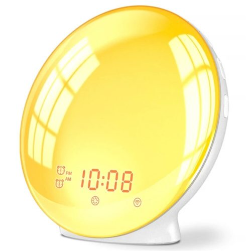 Light-Up Sunrise Alarm Clock Radio