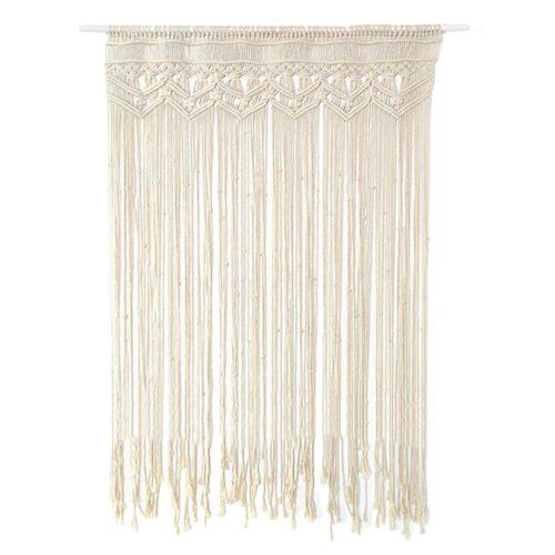 Bohemian Cotton Macrame Door Curtain