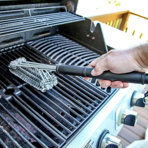 Stainless Steel BBQ Grill Brush