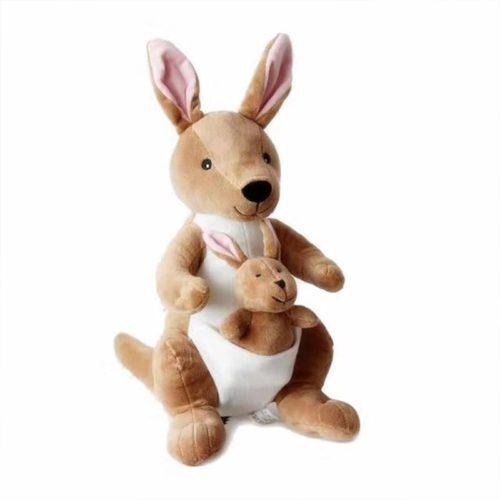 Mother and Child Kangaroo Stuffed Animal