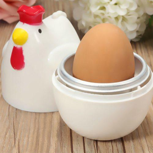 Hen Microwave Hard Boiled Egg Cooker