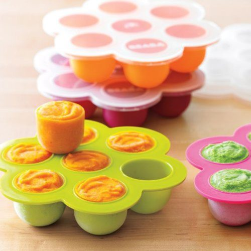 Silicone Baby Freezer Tray with Lid