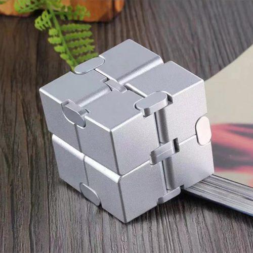 Fidget Metal Infinity Cube Toy