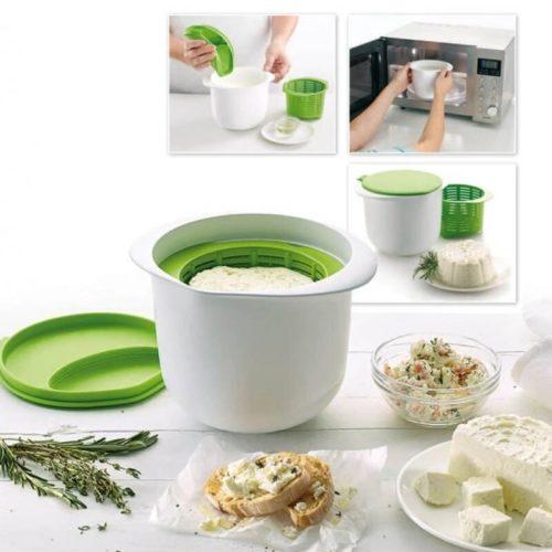 Microwave DIY Cheese Mold Press