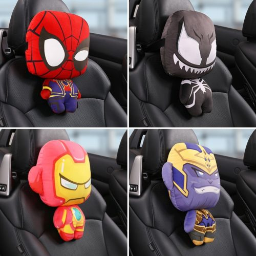 Cartoon Car Seat Pillow Headrest