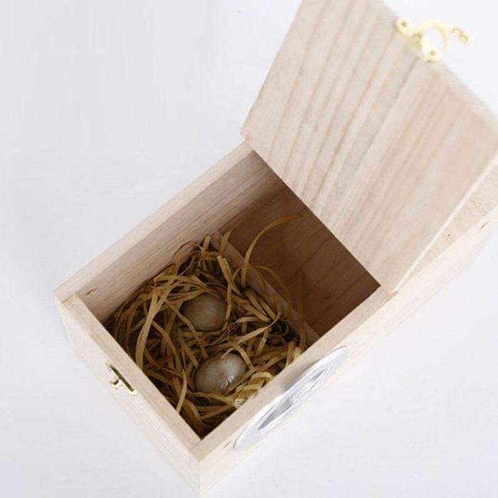 Nesting Wooden Bird Box