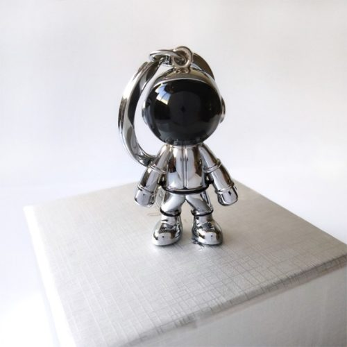 Cute Zinc Alloy Astronaut Keychain
