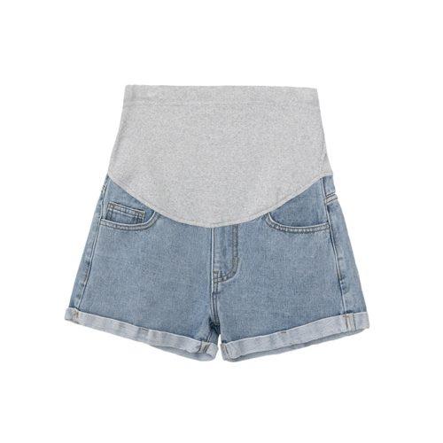 Summer Maternity Denim Shorts