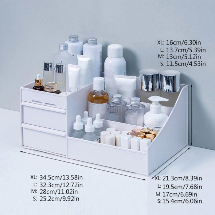 Desk Makeup Organizer Vanity Storage