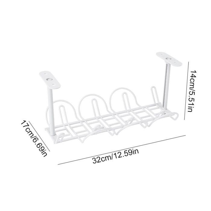 Under Table Cable Management Basket