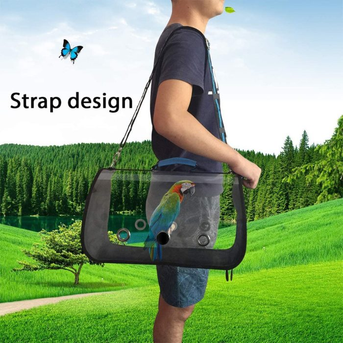 Transparent Bird Carrier Bag