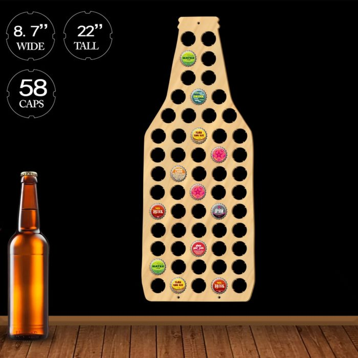 Bottle Cap Holder Collection Display