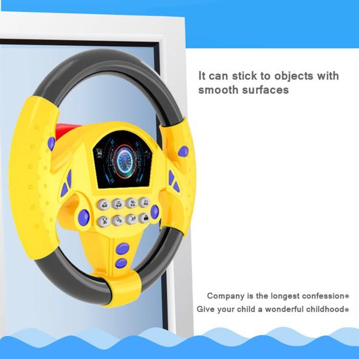 Kids Educational Steering Wheel Toy