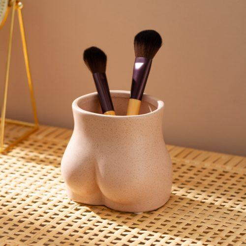 Ceramic Bum Planter Pot