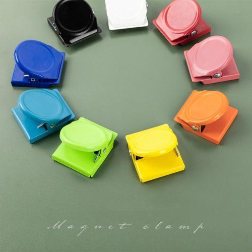 Candy Color Magnetic Fridge Clips (2Pcs.)