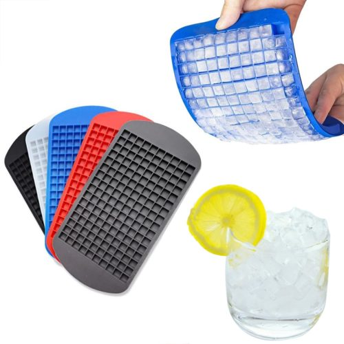 160-Grid Silicone Mini Ice Cubes Tray