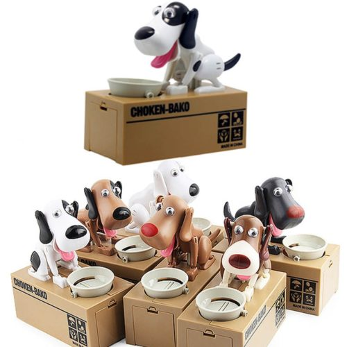 Dog Money Bank Creative Design Coin Box