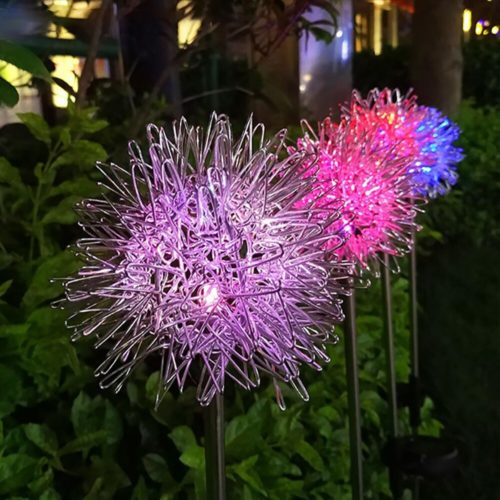 Garden Dandelion Solar Lights
