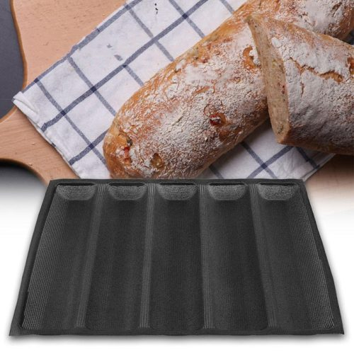 Silicone Baguette Baking Tray