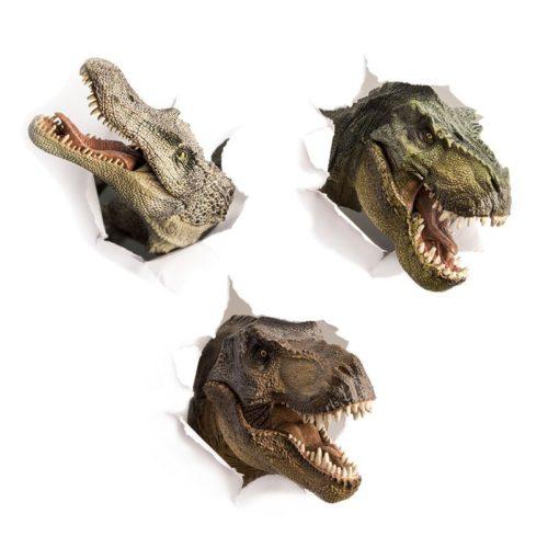 PVC 3D Dinosaur Wall Sticker