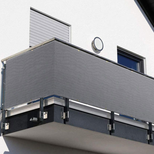 Mesh Balcony Screen Cover with Rope