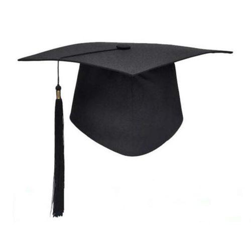 Classic Black Graduation Cap