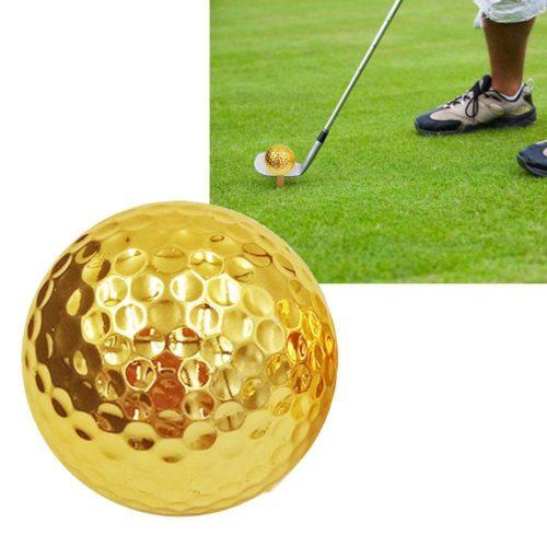 Outdoor Fancy Gold Golf Ball