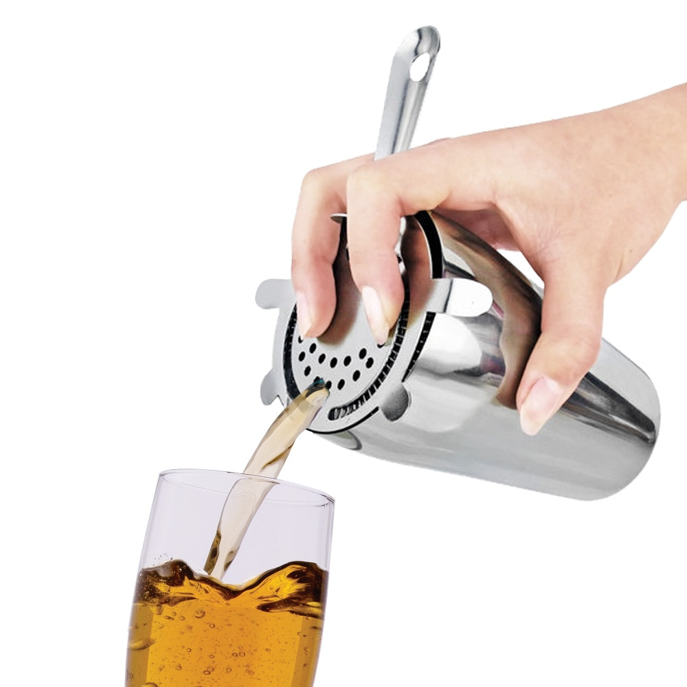 Stainless Steel Barware Cocktail Shaker Ice Filter Strainer Bar Accessories Bar Tools Gadgets