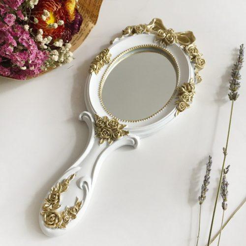 Vanity Vintage Handheld Mirror