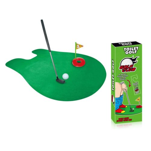 Complete Toilet Mini Golf Toy Set