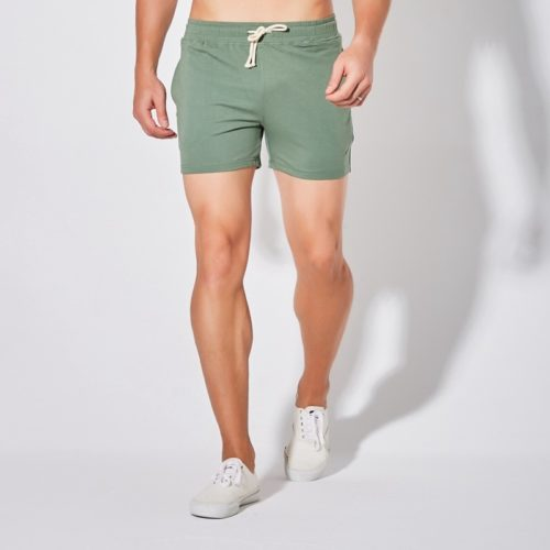 Breathable Cotton Mens Running Shorts