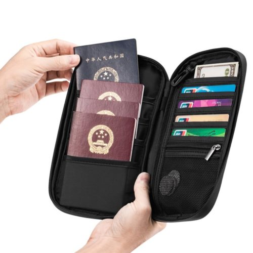Passport Purse RFID Wallet