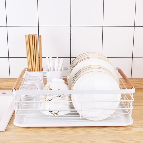 Small Dish Rack with Tray